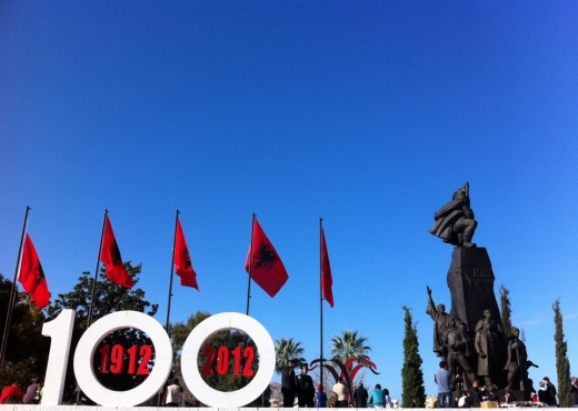 100 Vjetori ne Sheshin e Flamurit - Vlore