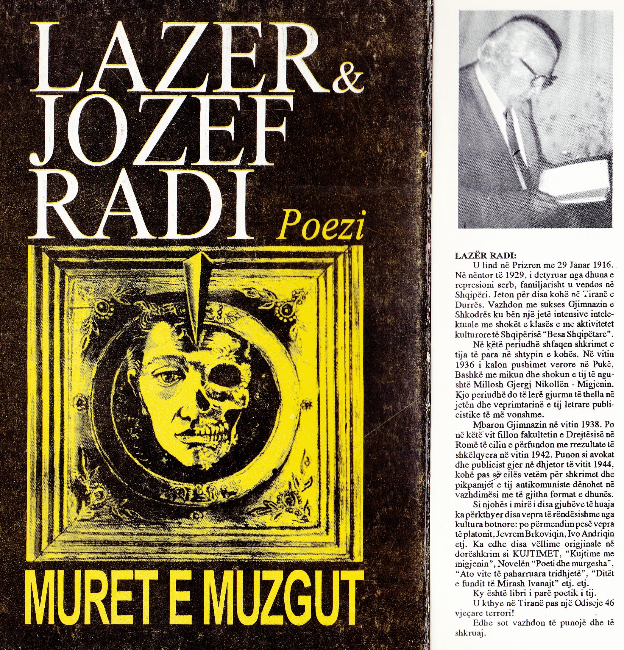 "Lazër & Jozef Radi ""Muret e Muzgut"""