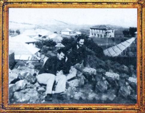 Migjeni dhe Lazër Radi, Pukë 1936