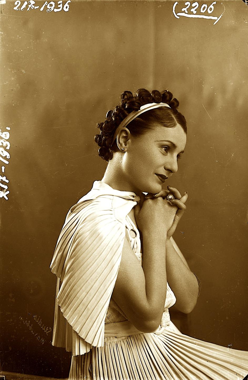 Tefta Tashko (1910-1947) foto Marubi
