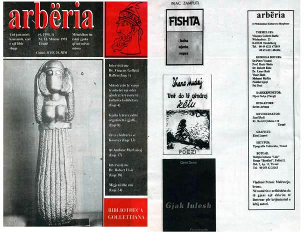 Arberia 10 Janar-Mars 1993