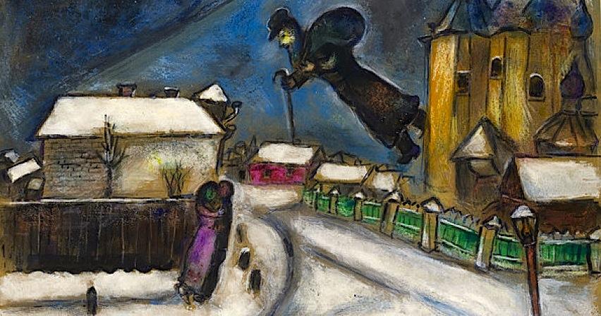 Marc Chagall - Dashuria për jetën....