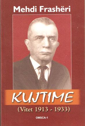 Mehdi Frashëri - Kujtime (1913-1933)