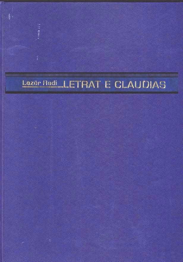 Lazër Radi: Letrat e Claudias (Dorëshkrim)