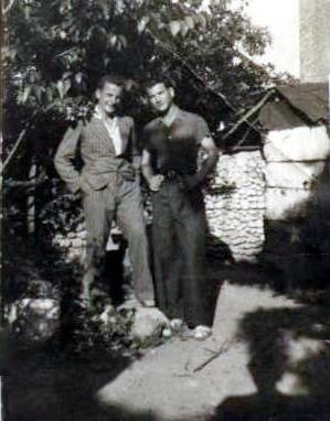 Lazër Radi & Elez Braha qershor 1938