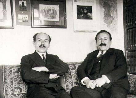Dr. Mirash & Prof. Martin Ivanaj 1930