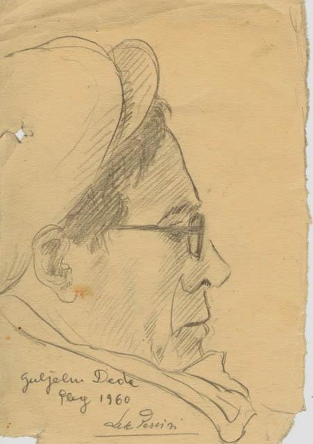 Skicë e Guljelm Dedës (Kuc 1955)