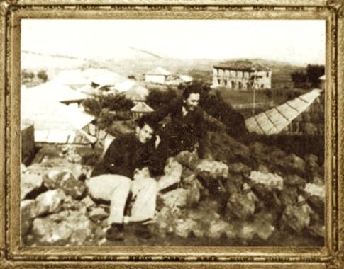 Migjeni dhe Lazër Radi - Pukë 1936