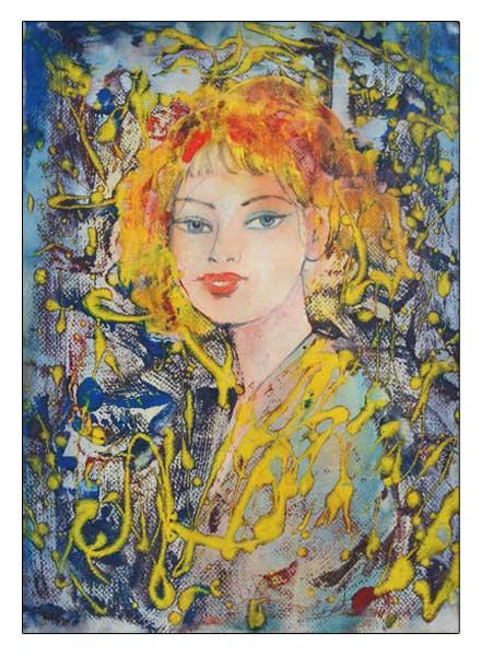 Portret vajze - Sadri Ahmeti