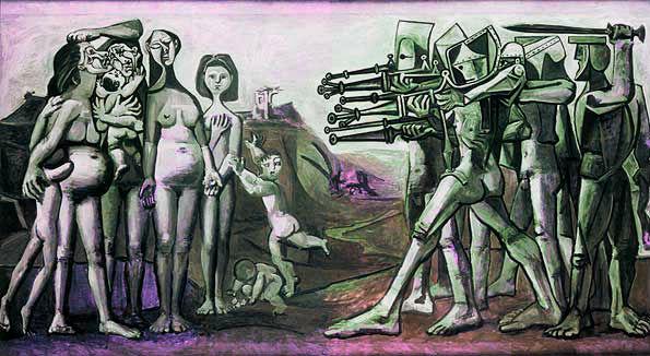 Pablo Picasso - Masakër komuniste