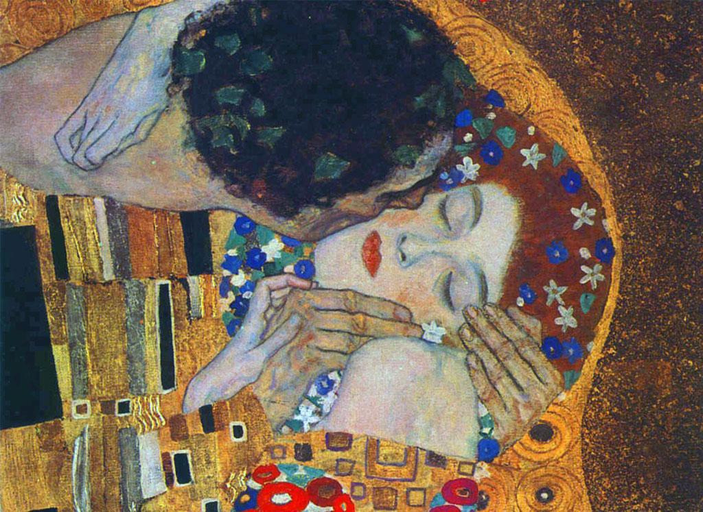 Gustav Klimt - Puthja