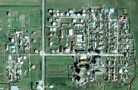 Savra prej Google Earth 2003