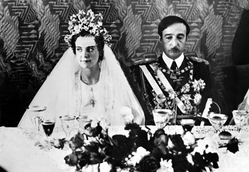 Ahmet Zog i I dhe Geraldinè Appony 1938