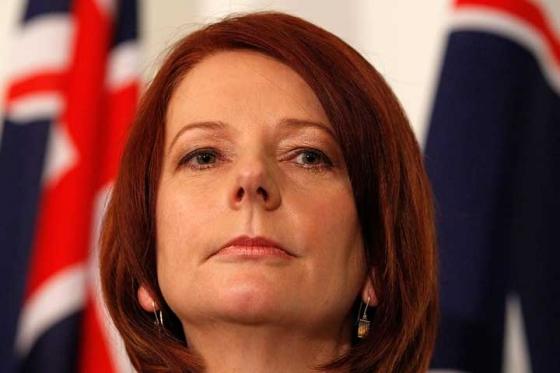 Kryeministrja Julia Gillard