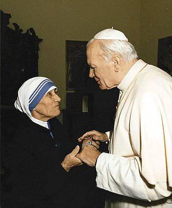 Gjon Pali II dhe Nanë Tereza