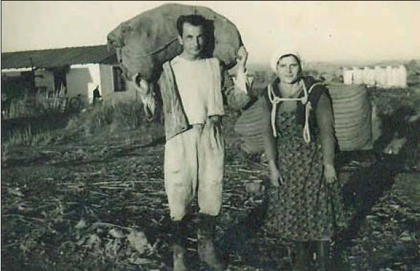 Klara e Fatos Merlika... nji amje e përditshme e jetës së kampit