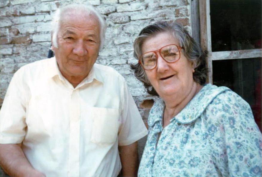 Lazër Radi dhe e shoqja Viktoria 1993