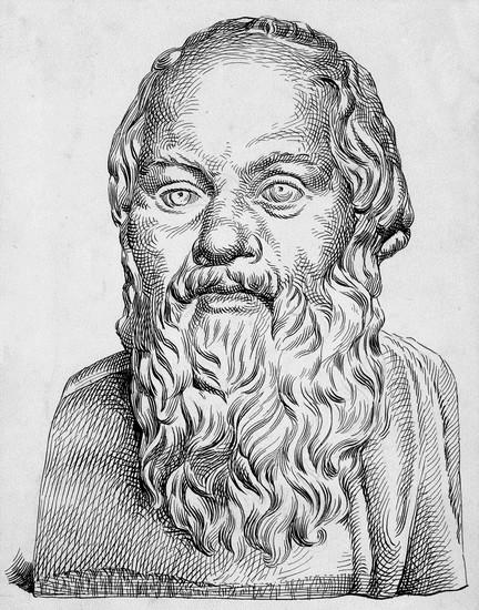 Busti i Sokratit