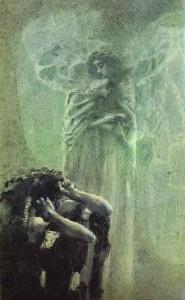Demoni dhe Shpirti Tamaras - nga Mikhail Vrubel