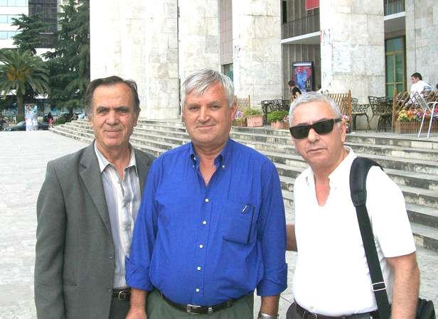Dine Dine, Bedri Blloshmi, Lirim Biçaku - Tiranë 2008