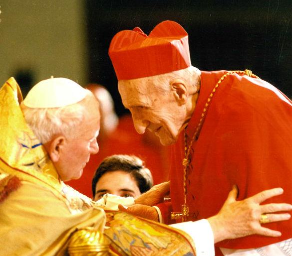 Papa Gjon Pali i II dhe Kardianl Koliqi