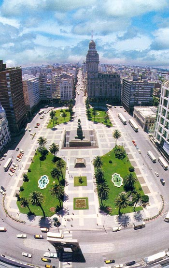 Plaza Independencia -Uruguaj