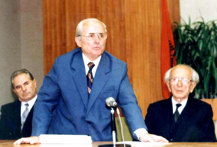 Agim Musta dhe Dr. Ymer Dishnica
