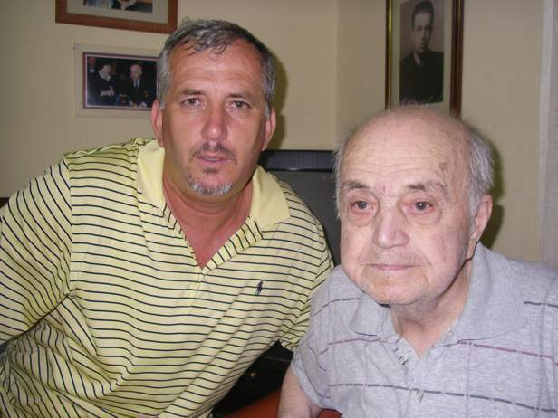 Prof. Pashko Gjeçi dhe Jozef Radi 2007
