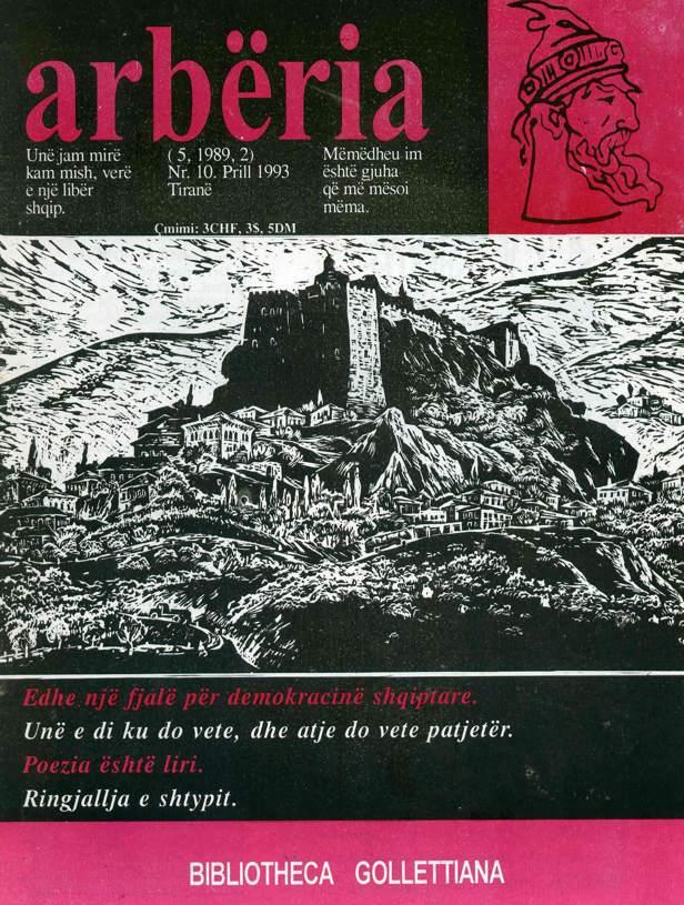 Revista Arbëria 10 -1993