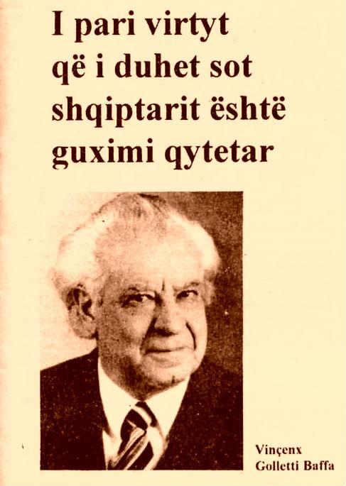 Prof. Vinçenc Golletti-Baffa