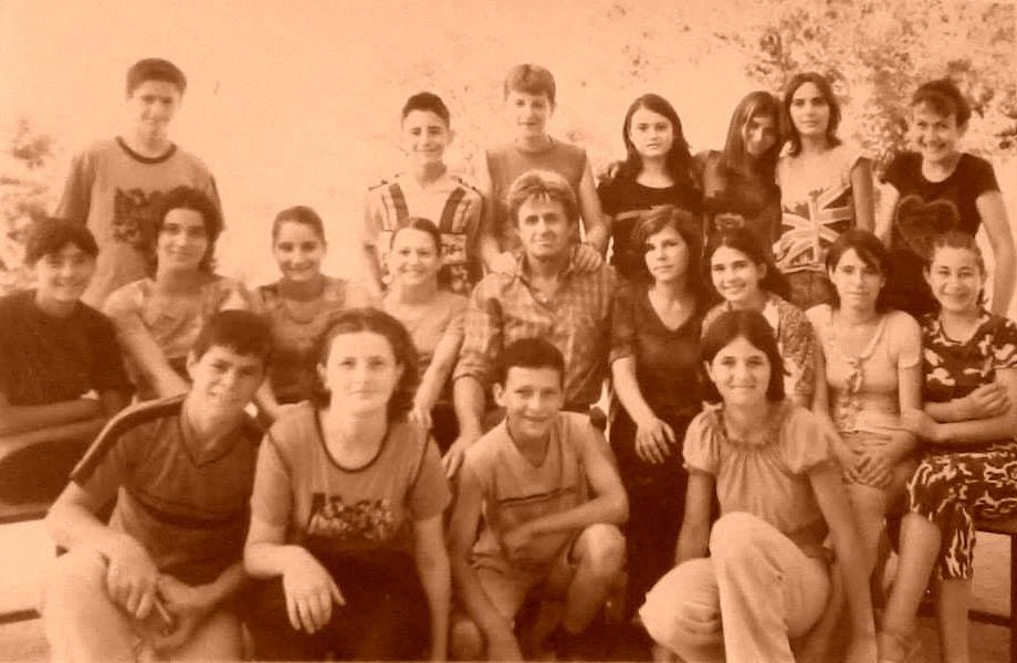 Nxënës të shkollës në vitet '80