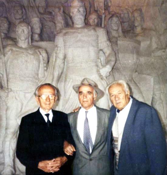 Dr. Ymer Dishnica - Prof. Hazir Shala - Dr. Lazër Radi - Krujë 1996