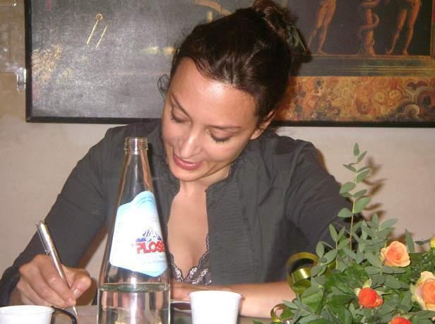 Shkrimtarja Ornela Vorpsi