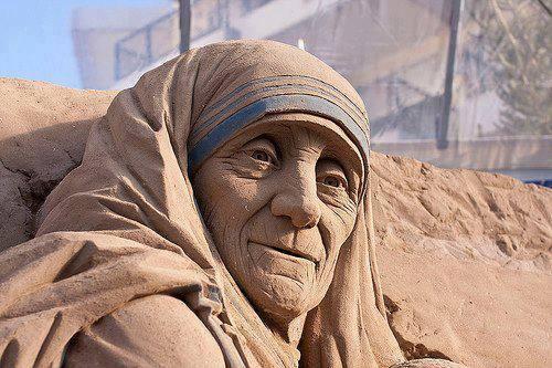 Nënë Tereza prej rëre