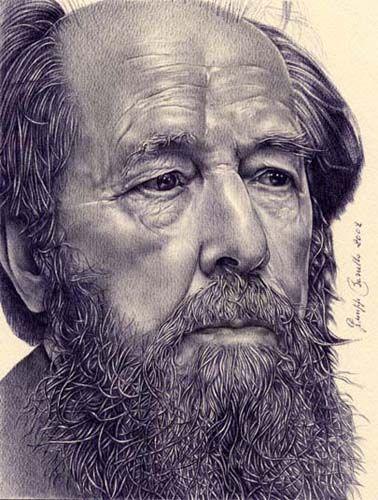Solzhenjicin (Portret - Borrello)