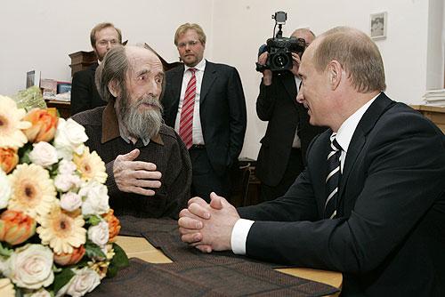 Putin dhe Solzhenitsin