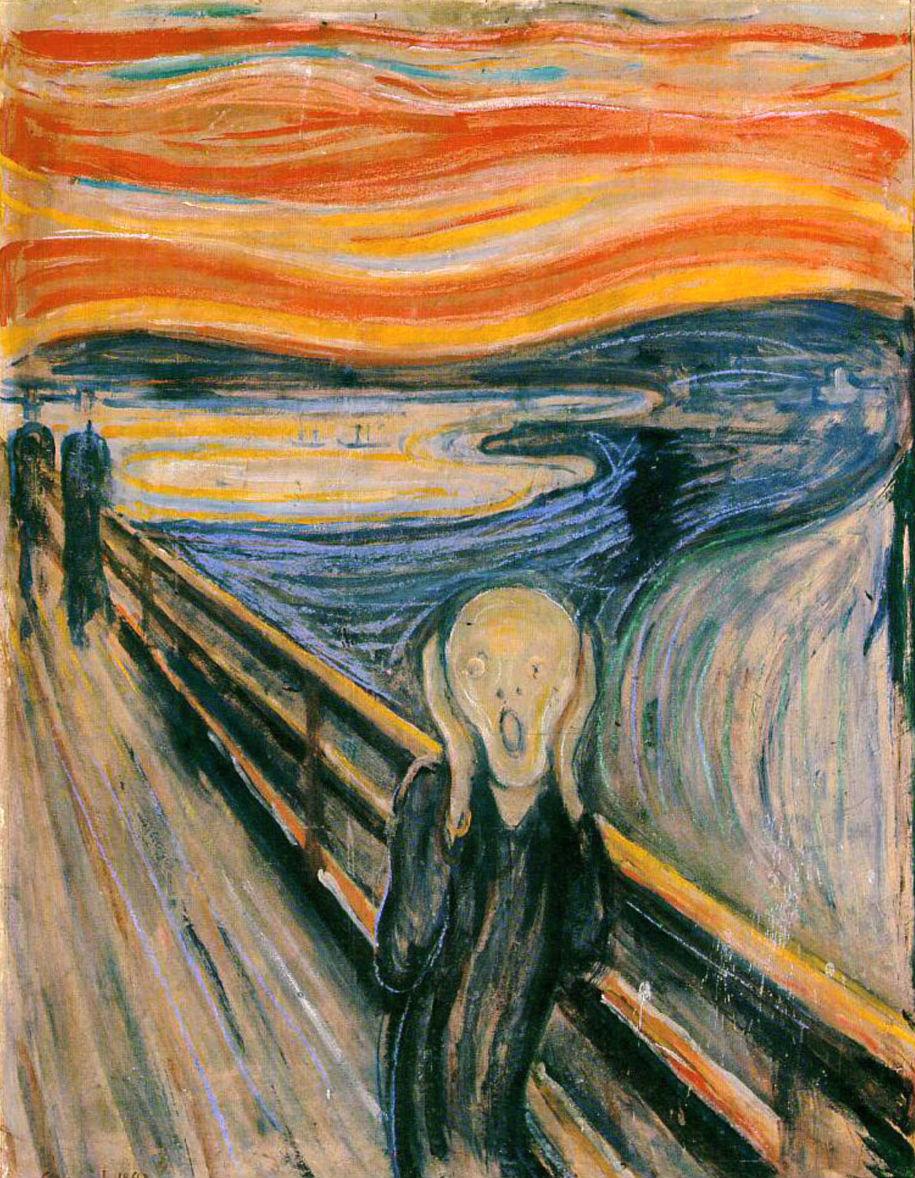 Ulërima - Edvard Munch