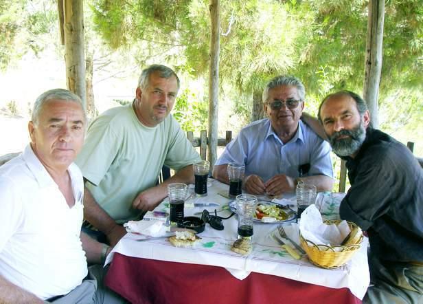 Dine Dine, Jozef Radi, Faslli Haliti, Gezim Hajdari