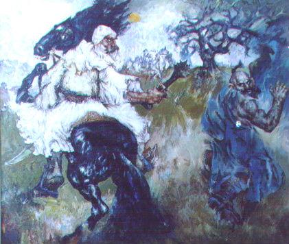 Legjenda e Gjergj Elez Alise (Piktura 2)