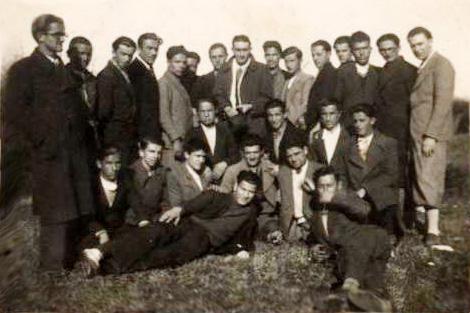 Gjimnazi i Shkodrës VI B - 1936