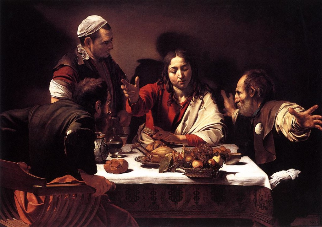 Caravaggio: Supper and Emmaus