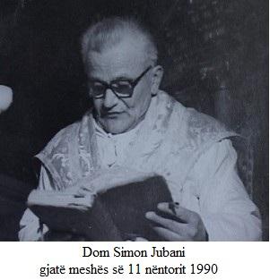 Dom Simon Jubani (1927-2011)