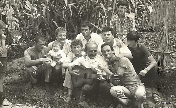 Fran Tinaj mes djemve të kampit Savër -1989