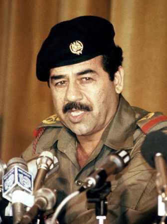 Sadam Hussein (iraken)