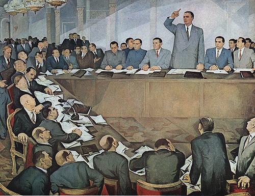 Guri Madhi - Mbledhja e 81 Partive në Moskë - 1960