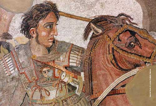 Aleksandri i Madh mozaik