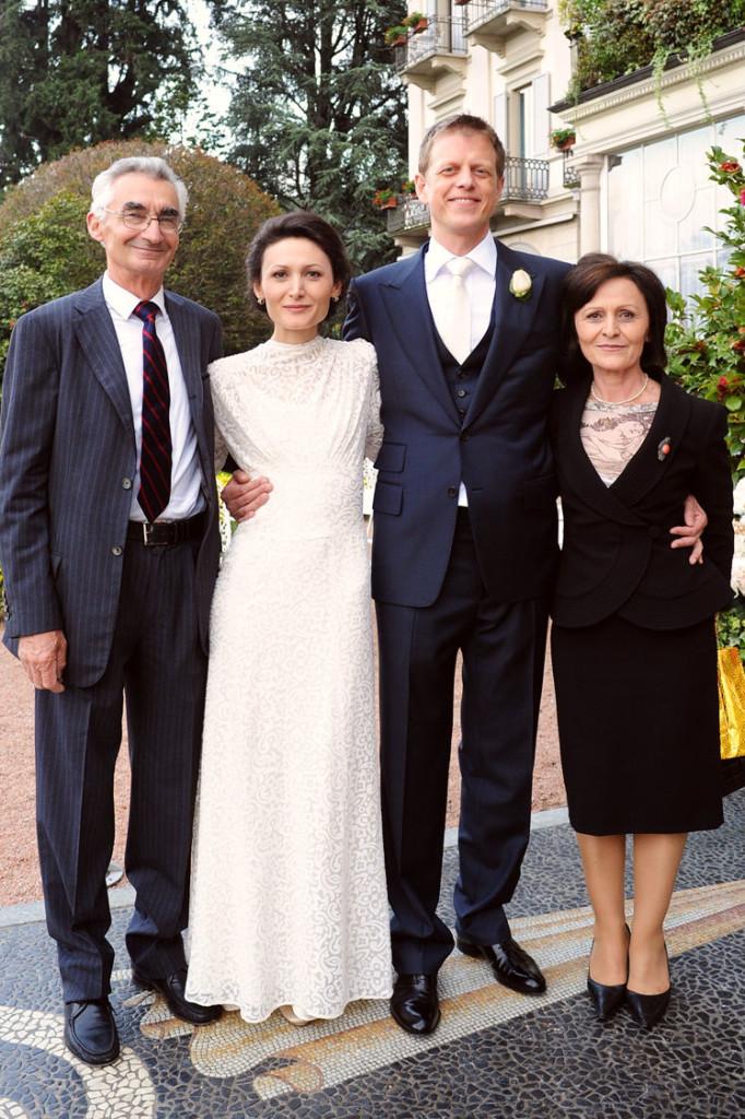 Edira Merlika Hepburn me prindët Evgjeni dhe Teuta