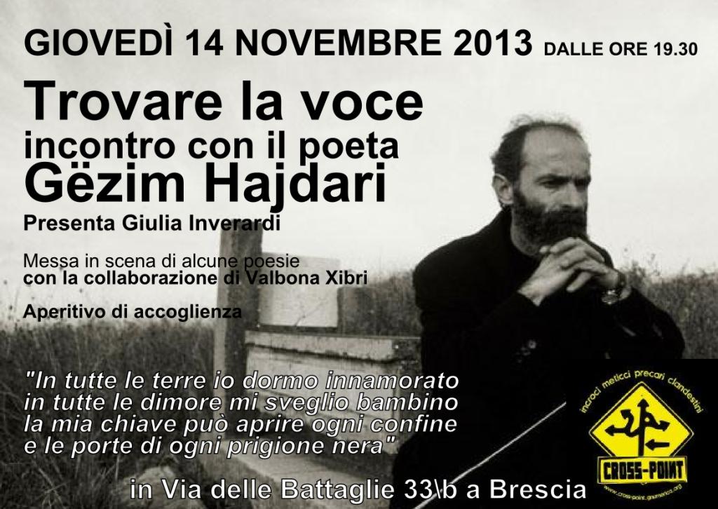 Prezantim i Gëzim Hajdarit në Brescia