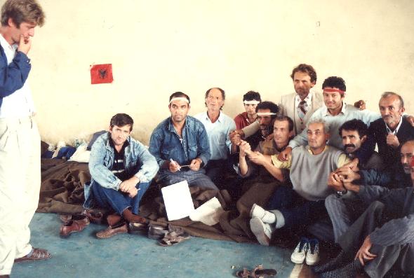 Greva e Urisë - Tiranë shtator 1991