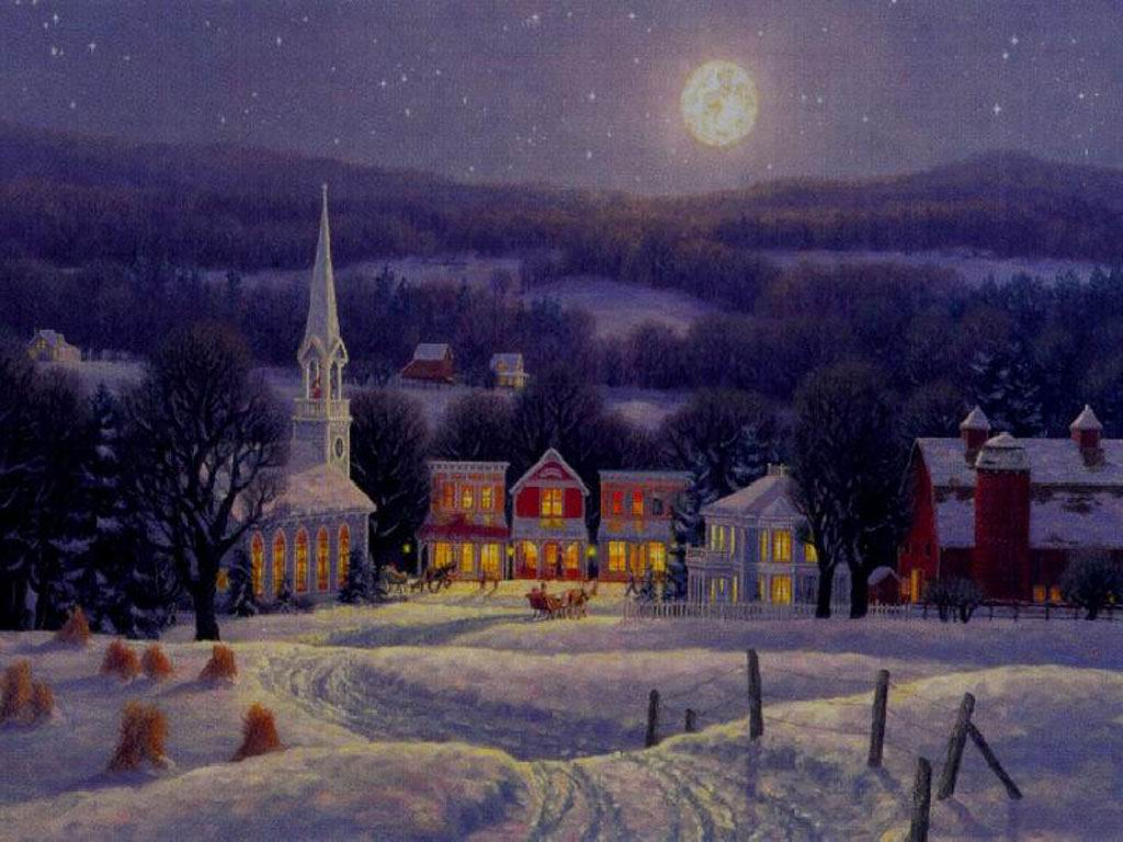 Krishtlindjet nen bore...